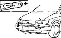 14. Выключатель омывателя передних фар MX (4WD)